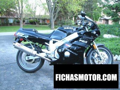 Ficha técnica Yamaha fzr 600 1991