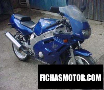 Ficha técnica Yamaha fzr 600 1993