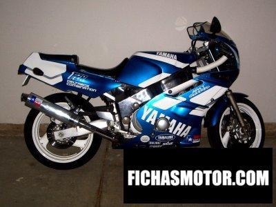 Ficha técnica Yamaha fzr 600 r 1994