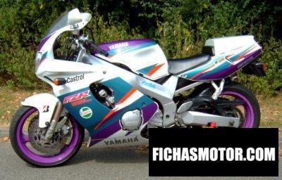 Ficha técnica Yamaha fzr 600 r 1995