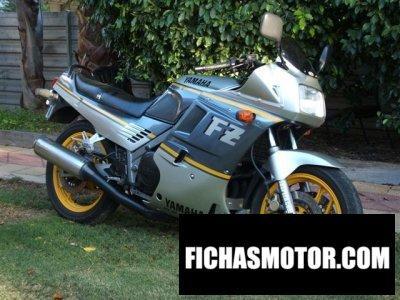 Ficha técnica Yamaha fzr 750 genesis 1988