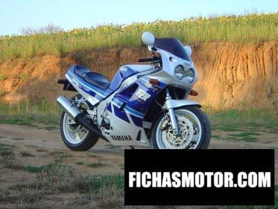 Ficha técnica Yamaha fzr 750 r 1989
