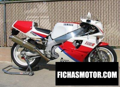 Ficha técnica Yamaha fzr 750 r 1991