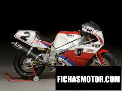 Ficha técnica Yamaha fzr 750 r 1992
