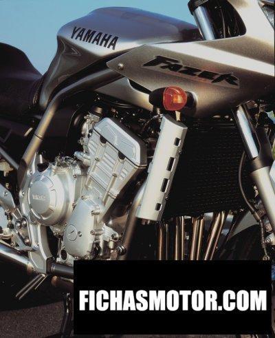 Imagen moto Yamaha fzs 1000 fazer año 2002