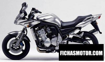 Ficha técnica Yamaha fzs 1000 fazer 2003