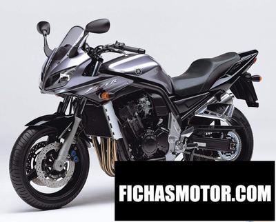Ficha técnica Yamaha fzs 1000 fazer 2004