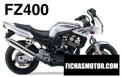 Imagen moto Yamaha fzs 400 fazer año 1997