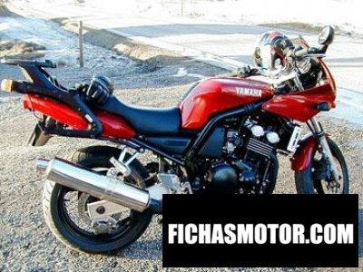 Ficha técnica Yamaha fzs 600 fazer 1999