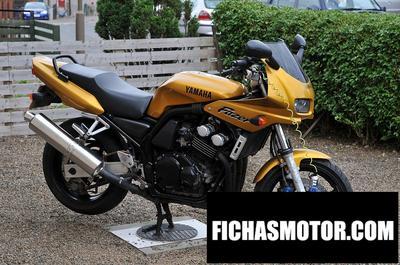 Ficha técnica Yamaha fzs 600 n 2000