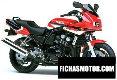 Imagen moto Yamaha fzs 600 s fazer año 2001