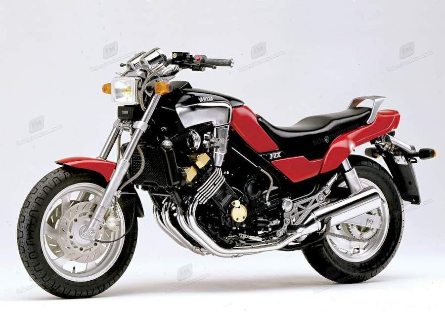Ficha técnica Yamaha fzx 750 1988