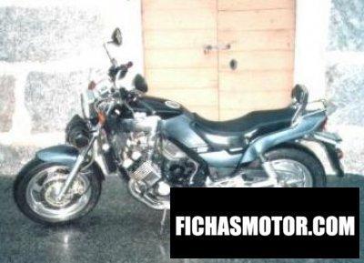 Ficha técnica Yamaha fzx 750 1989