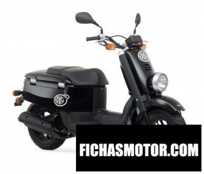 Imagen moto Yamaha giggle año 2008