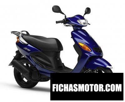 Imagen moto Yamaha grand axis 100 año 2011