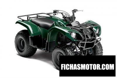 Ficha técnica Yamaha grizzly 125 automatic 2015