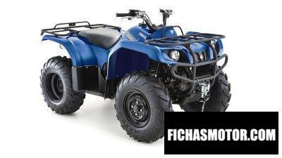 Ficha técnica Yamaha Grizzly 350 2WD 2019