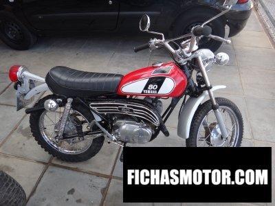 Ficha técnica Yamaha gt80 b 1975