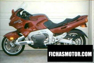 Ficha técnica Yamaha gts 1000 1993