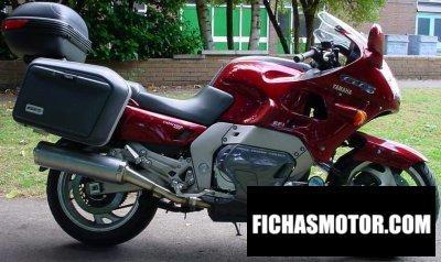 Ficha técnica Yamaha gts 1000 1995