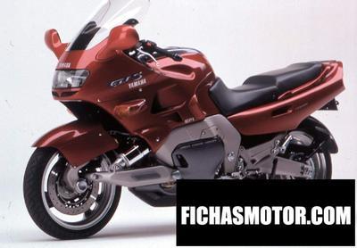Ficha técnica Yamaha gts 1000 1996