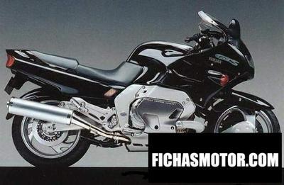 Ficha técnica Yamaha gts 1000 abs 1998