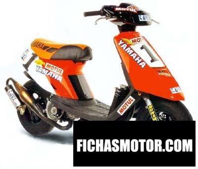 Ficha técnica Yamaha jog r 2007