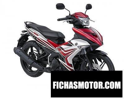 Imagen moto Yamaha jupiter mx 150 año 2017