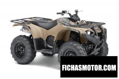 Ficha técnica Yamaha kodiak 450 2018