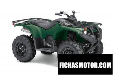 Ficha técnica Yamaha Kodiak 450 2019