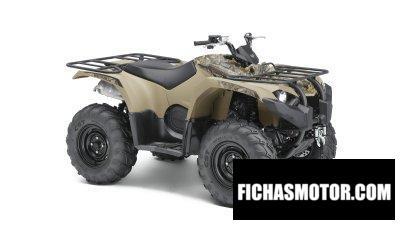 Ficha técnica Yamaha Kodiak 450 2020