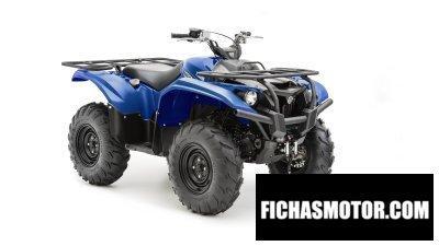 Ficha técnica Yamaha kodiak 700 2016