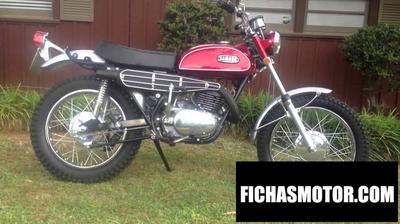 Ficha técnica Yamaha ks 250 1970
