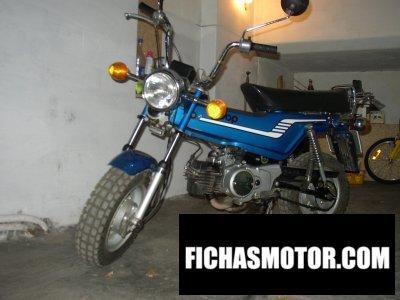 Motorrad Bild Yamaha lb 3 bop 80 Jahr 1979