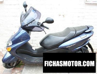 Imagen moto Yamaha majesty 125 año 2003