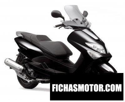 Ficha técnica Yamaha majesty 125 2008