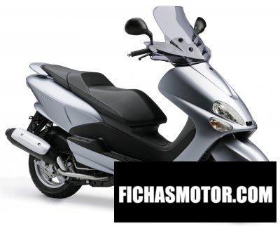 Ficha técnica Yamaha majesty 180 2006