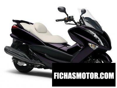 Ficha técnica Yamaha majesty 250 2011