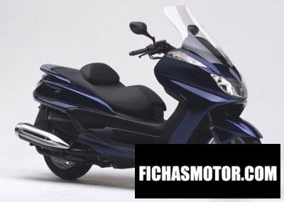 Imagen moto Yamaha majesty 400 año 2004