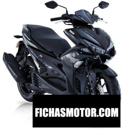 Imagen moto Yamaha mio aerox 155 año 2018