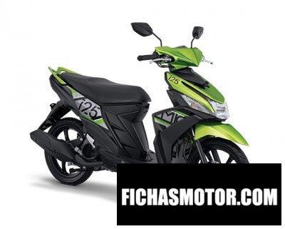 Imagen moto Yamaha mio m3 125 año 2017