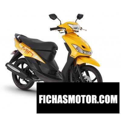 Ficha técnica Yamaha Mio Sporty 2019