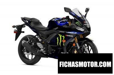 Ficha técnica Yamaha Monster Energy Yamaha Motogp Edition YZF-R3 2020
