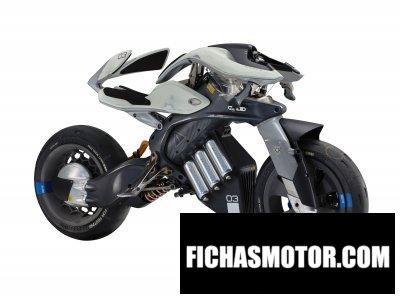 Imagen moto Yamaha motoroid año 2018