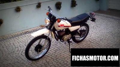Ficha técnica Yamaha mr50 1980