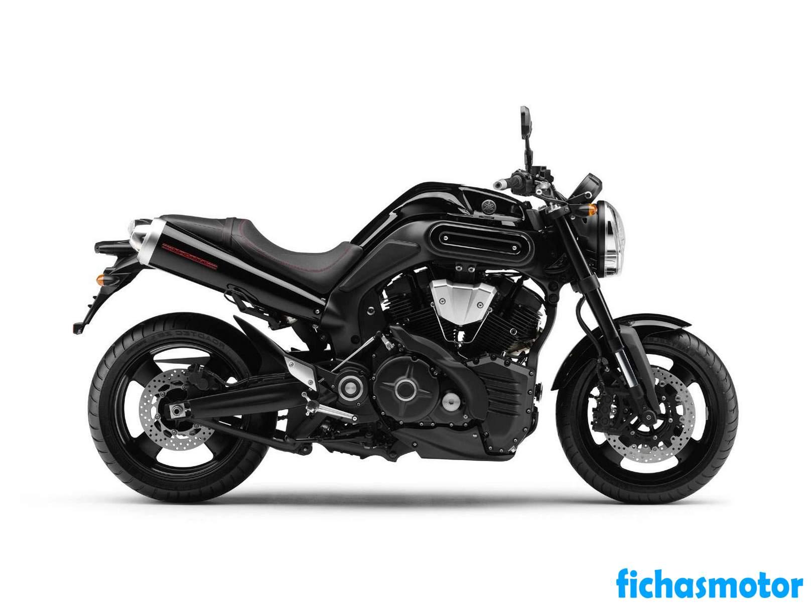 Ficha técnica Yamaha mt-01 2012