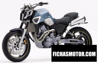Ficha técnica Yamaha mt-03 2004