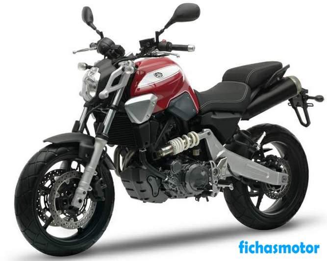 Ficha técnica Yamaha mt-03 2008
