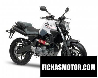 Ficha técnica Yamaha mt-03 2011