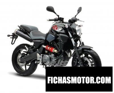 Ficha técnica Yamaha mt-03 2013